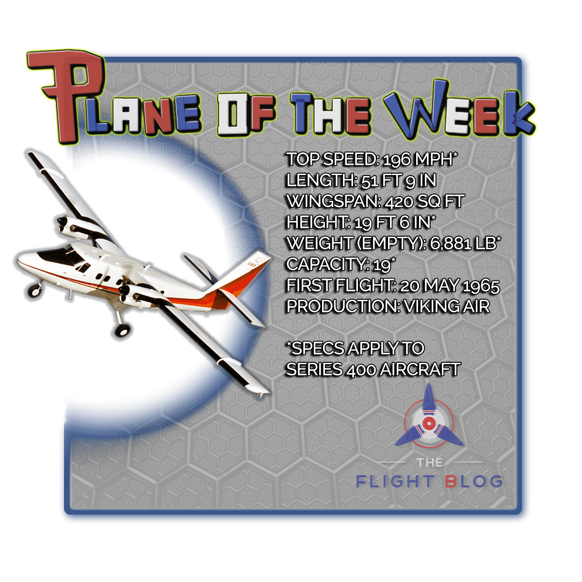 plane of the week, DHC-6, twin otter, south pole rescue plane