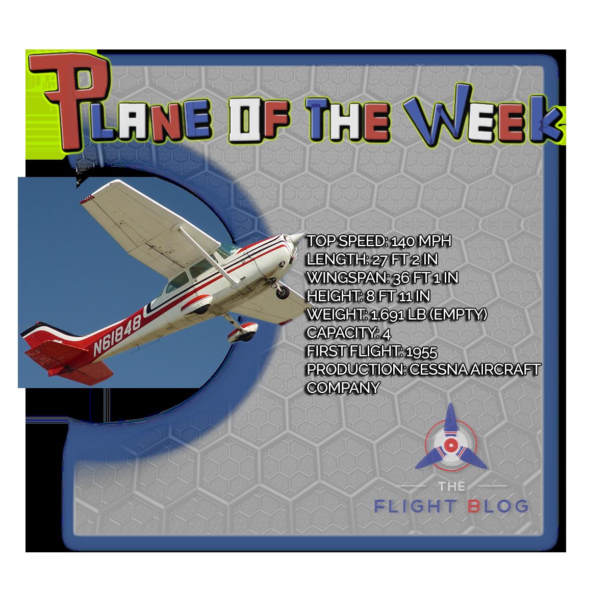 cessna 172, cessna skyhawk, plane of the week, cessna 172 specs, cessna skyhawk plane specs, the flight blog