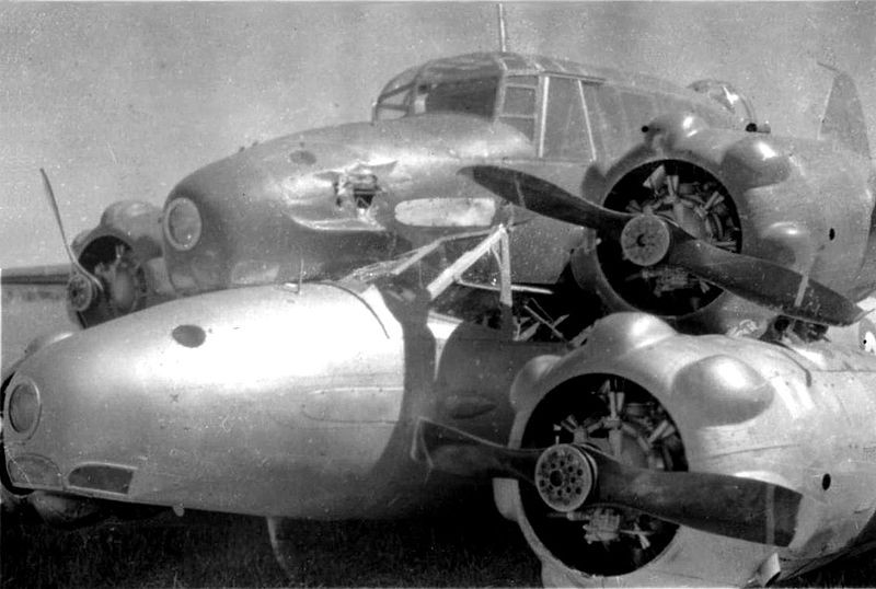 avro ansons, brocklesby mid-air collision