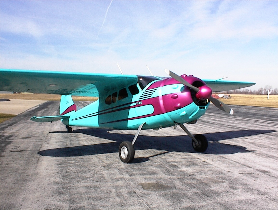 kenneth Stapleton's Cessna 195A