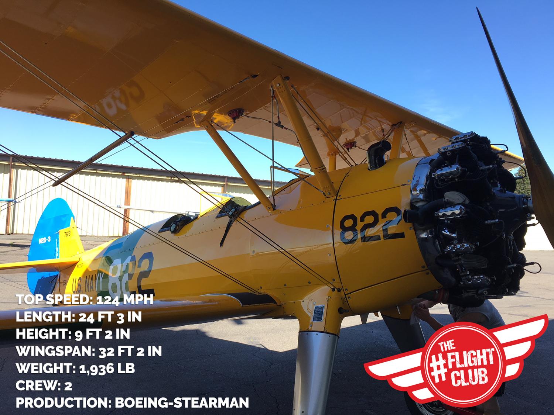 aoo flight club boeing stearman winner